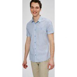 Medicine - Koszula Basic. Szare koszule męskie na spinki MEDICINE, m, z bawełny, z klasycznym kołnierzykiem, z krótkim rękawem. W wyprzedaży za 39,90 zł.