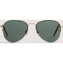 Okulary przeciwsłoneczne męskie: Mango Man – Okulary Aviator