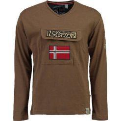 """T-shirty męskie: Koszulka """"Jiclass"""" w kolorze jasnobrązowym"""