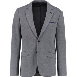 Marynarki męskie slim fit: Scotch & Soda TWO TONE Marynarka charcoal
