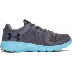 Under Armour Buty W Thrill 2 Rh Gr Ven Bl Blk 38,5. Szare buty do fitnessu damskie marki KALENJI, z gumy. W wyprzedaży za 219,00 zł.