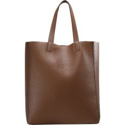 Shopper bag damskie: Abro Torba na zakupy cognacdark brown