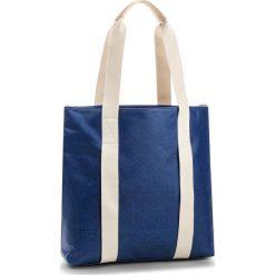 Torebka CLARKS - Tasmin Day 261322060 Blue Canvas. Niebieskie torebki klasyczne damskie Clarks, z materiału, duże. W wyprzedaży za 289,00 zł.