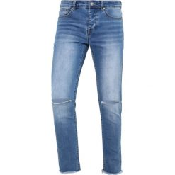Jeansy męskie regular: Sixth June Jeansy Slim Fit blue