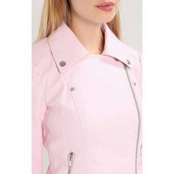Bomberki damskie: Noisy May Petite NMREBEL JACKET  Kurtka ze skóry ekologicznej barely pink