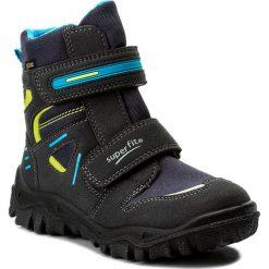 Buty zimowe chłopięce: Śniegowce SUPERFIT – GORE-TEX 1-00080-81 S Ocean Kombi