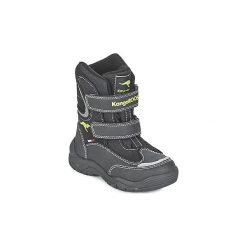 Śniegowce Dziecko Kangaroos  LENOXX II. Czarne buty zimowe chłopięce KangaROOS. Za 197,10 zł.