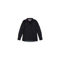Bluzka damska we wzory, z kokardą. Czarne bluzki asymetryczne TXM, z kokardą. Za 29,99 zł.