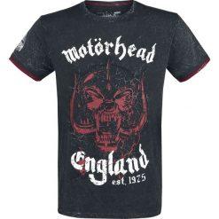Motörhead EMP Signature Collection T-Shirt ciemnoszary/czerwony. Czerwone t-shirty męskie z nadrukiem Motörhead, m, z okrągłym kołnierzem. Za 144,90 zł.