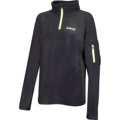 Bluzy rozpinane damskie: BERG OUTDOOR Bluza damska Carbon Fibre Sweat czarna r.S
