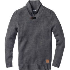Swetry klasyczne męskie: Sweter Regular Fit bonprix szary melanż