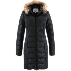 Lekki płaszcz puchowy pikowany bonprix czarny. Czarne płaszcze damskie puchowe marki FORCLAZ, m, z materiału. Za 249,99 zł.