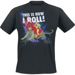 T-shirty męskie z nadrukiem: Masters Of The Universe This Is How I Roll T-Shirt czarny