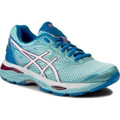 Buty ASICS - Gel-Cumulus 18 T6C8N  Aqua Splash/White/Pink Glow 6701. Czarne buty do biegania damskie marki Asics. W wyprzedaży za 349,00 zł.