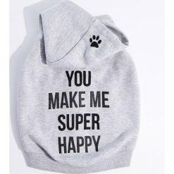 Bluza dla psa Little Friends - Szary. Szare bluzy damskie marki Mohito, l. Za 69,99 zł.