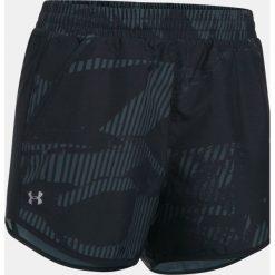Spodenki sportowe męskie: Under Armour Spodenki damskie Fly-By Perforated Shorts czarne r. M (1297126-009)