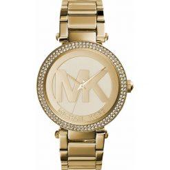 Zegarek MICHAEL KORS - Parker MK5784 Gold/Gold. Żółte zegarki damskie Michael Kors. Za 1290,00 zł.
