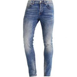 Only & Sons ONSLOOM  Jeans Skinny Fit light blue denim. Brązowe rurki męskie marki Only & Sons, l, z poliesteru. Za 209,00 zł.