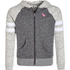 Abercrombie & Fitch COLORBLOCKED CORE FULLZIP Bluza rozpinana dark grey/light grey. Szare bluzy dziewczęce rozpinane marki Abercrombie & Fitch, z bawełny. W wyprzedaży za 159,20 zł.
