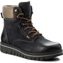 Botki LASOCKI - WI16-IRINA-05 Granatowy. Niebieskie buty zimowe damskie Lasocki, z materiału, na obcasie. Za 199,99 zł.