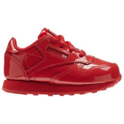 BUTY REEBOK CLASSIC LEATHER PATENT CN1458. Czerwone buciki niemowlęce chłopięce Reebok. Za 139,00 zł.