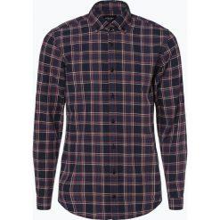 Joop - Koszula męska, niebieski. Szare koszule męskie w kratę marki JOOP!, z bawełny, z klasycznym kołnierzykiem, z długim rękawem. Za 449,95 zł.