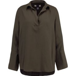 Bluzki asymetryczne: Hope POETRY  Bluzka dark khaki