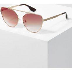 Okulary przeciwsłoneczne damskie: McQ Alexander McQueen Okulary przeciwsłoneczne gold/pink
