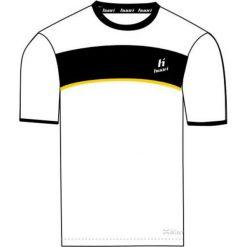 T-shirty chłopięce: Huari T-shirt juniorski Lopez Kids T-shirt White/ Black / Cyber Yellow r.  122