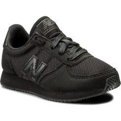 Sneakersy NEW BALANCE - KL220TBY M Czarny. Czarne trampki chłopięce marki New Balance. Za 249,99 zł.