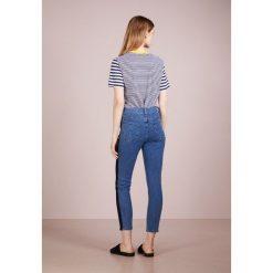 Rag & bone MAZIE Jeans Skinny Fit blue denim. Niebieskie rurki damskie rag & bone, z bawełny. W wyprzedaży za 455,60 zł.
