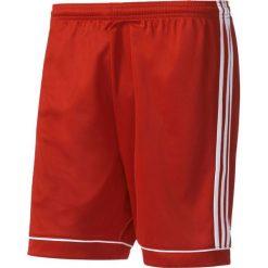 Spodenki sportowe męskie: Adidas Spodenki piłkarskie męskie Squadra 13 czerwono-białe r. XL (BJ9226)