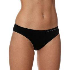 Stroje kąpielowe damskie: Brubeck Figi damskie bikini Comfort Cotton czarne r. S (BI10020A)