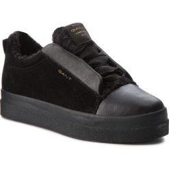 Sneakersy GANT - Amanda 17531849  Black G00. Czarne sneakersy damskie marki GANT, z materiału. Za 479,90 zł.