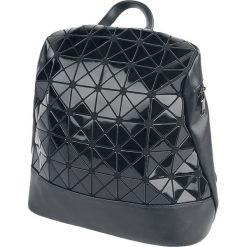 Banned Alternative Prism Plecak czarny. Czarne plecaki damskie Banned, z aplikacjami. Za 199,90 zł.
