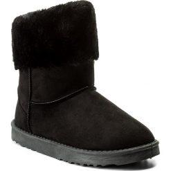 Buty JENNY FAIRY - WS1655-23A Czarny. Czarne buty zimowe damskie Jenny Fairy, z materiału. Za 79,99 zł.