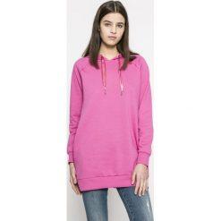 Only - Bluza Mynte. Czarne bluzy z kieszeniami damskie marki ONLY, l, z materiału, z kapturem. W wyprzedaży za 79,90 zł.