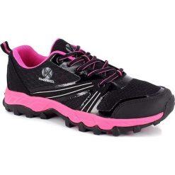 """Buty sportowe damskie: Buty """"Gobi"""" w kolorze czarno-różowym do biegania"""