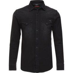 Replay Koszula black denim. Zielone koszule męskie marki Replay, z bawełny. Za 559,00 zł.