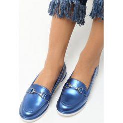 Mokasyny damskie: Niebieskie Mokasyny Jamiro