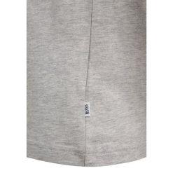 BOSS Kidswear KURZARM ZBASIC Tshirt z nadrukiem hell graumeliert. Niebieskie t-shirty chłopięce z nadrukiem marki BOSS Kidswear, z bawełny. Za 159,00 zł.