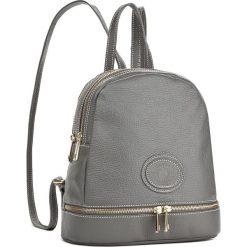 Plecak CREOLE - K10416 Dolaro Szary. Czarne plecaki damskie marki Creole, ze skóry. W wyprzedaży za 179,00 zł.