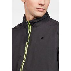 G-Star Raw - Kurtka. Czarne kurtki męskie przejściowe marki G-Star RAW, l, z materiału, retro. W wyprzedaży za 359,90 zł.