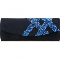 Torebka damska 85-4Y-802-7. Niebieskie torebki klasyczne damskie marki Wittchen, w kolorowe wzory. Za 129,00 zł.