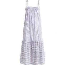 Długie sukienki: Abercrombie & Fitch TIE SHOULDER Długa sukienka blue/white