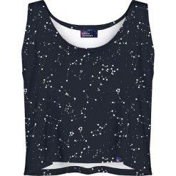 Colour Pleasure Koszulka damska CP-035 43 czarna r. XL-XXL. Fioletowe bluzki damskie marki Colour pleasure, uniwersalny. Za 64,14 zł.