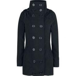Płaszcze damskie pastelowe: Brandit Madisson Fleece Mantel Płaszcz damski czarny