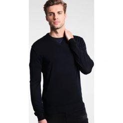 Armani Exchange Sweter navy. Niebieskie kardigany męskie Armani Exchange, m, z bawełny. W wyprzedaży za 359,10 zł.