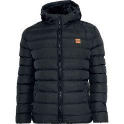 Urban Classics Basic Bubble Jacket Kurtka czarny. Niebieskie kurtki męskie marki Urban Classics, l, z okrągłym kołnierzem. Za 244,90 zł.