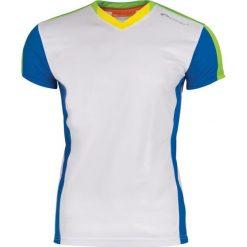 Odzież sportowa męska: Spokey Koszulka męska piłkarska TS822-MS16-00X biało-niebiesko-zielona r. XXL